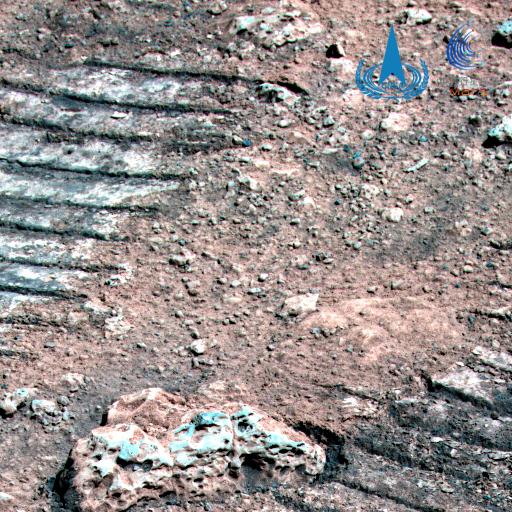 图1为火星岩石