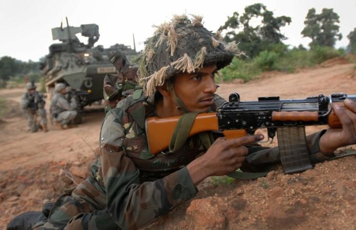 印度陆军士兵 资料图
