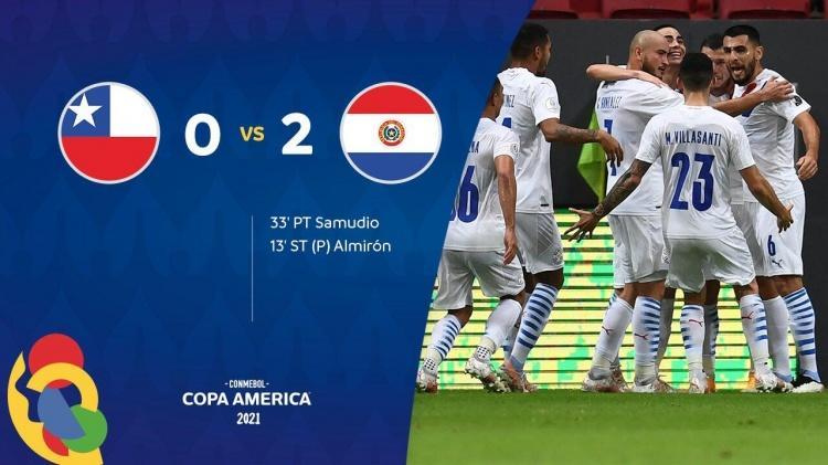 巴拉圭2-0智利兩隊攜手出線 阿爾米隆傳射建功