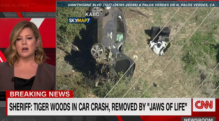 事故现场。图源 CNN