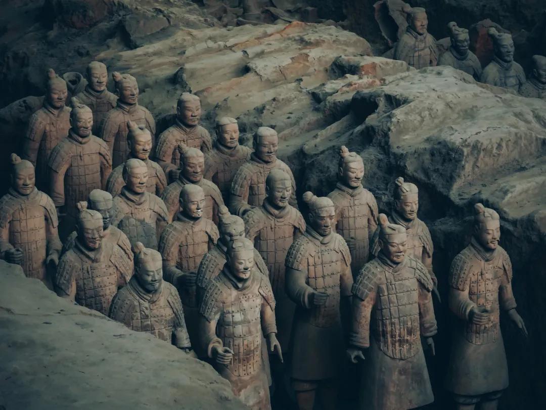 秦始皇陵兵马俑,始皇帝曾经的军队 图源   图虫创意