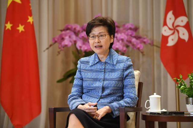 林鄭月娥:我提的所有意見百分百被中央接納 香港仍欠缺一件事