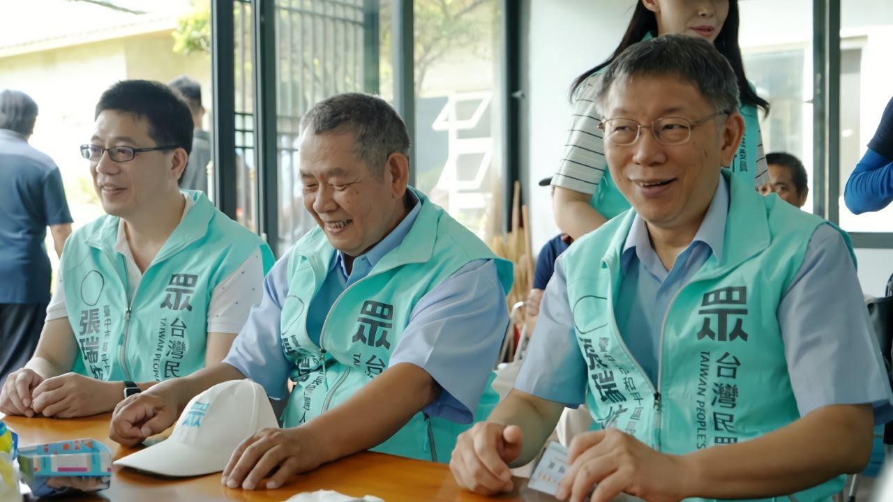 柯文哲一人难撑一党,台湾民众党恐走上亲民党老路