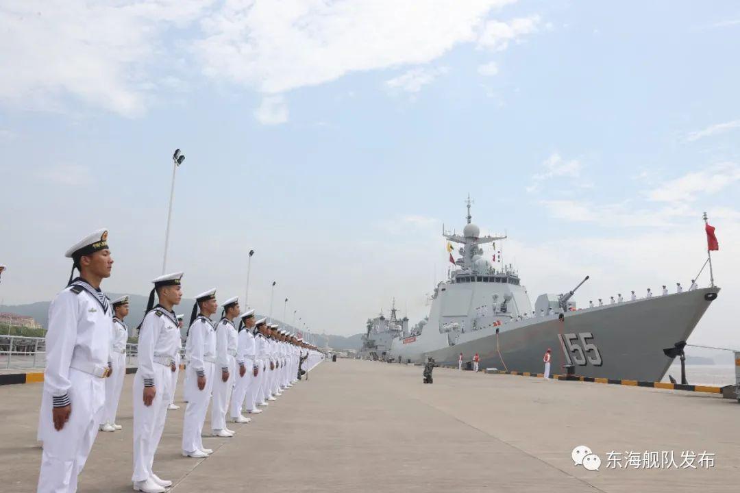 出征!第38批护航编队解缆起航奔赴亚丁湾