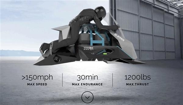 像宇宙飛船一樣垂直升降!245萬一臺的飛行摩托