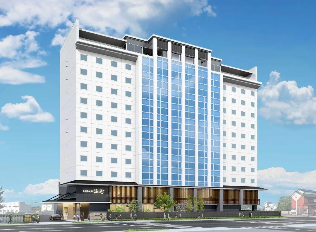 函馆汤之川温泉 海与灯 休伊特度假村酒店将于2021年7月1日开幕