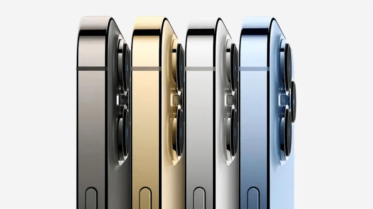 13 Pro和Pro Max配色:石墨色、金色、银色、远峰蓝