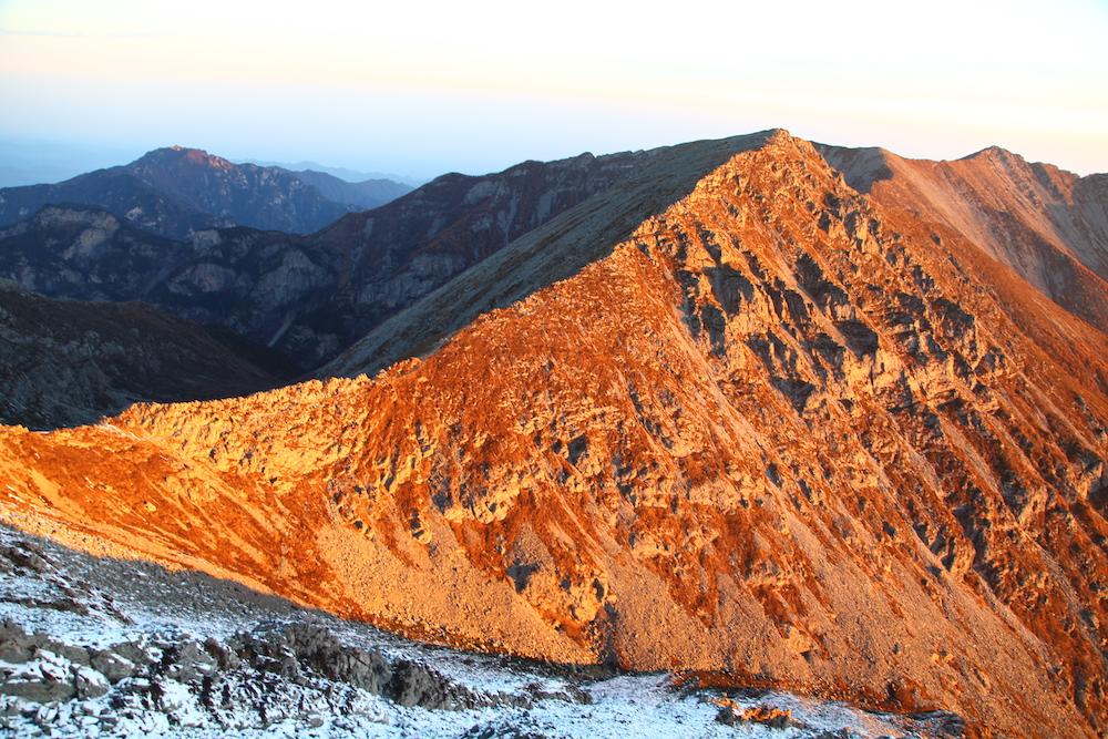 太白山景色   视觉中国 图