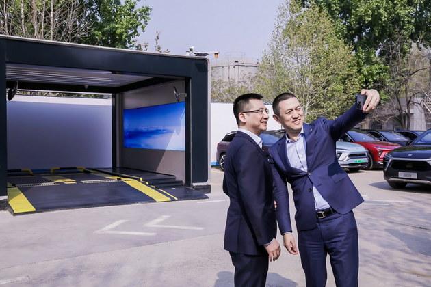 蔚来与中石化战略合作 第二代换电站启用