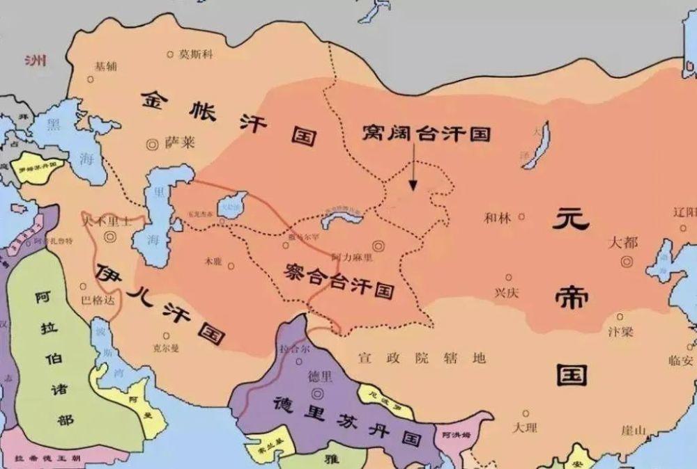元朝滅亡時 蒙古四大汗國為何無人來救?