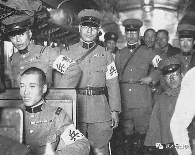 老照片里的日本宪兵