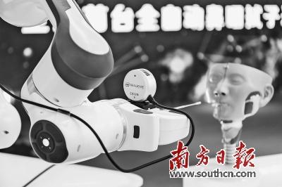 世界首台人工智能采样机器人亮相