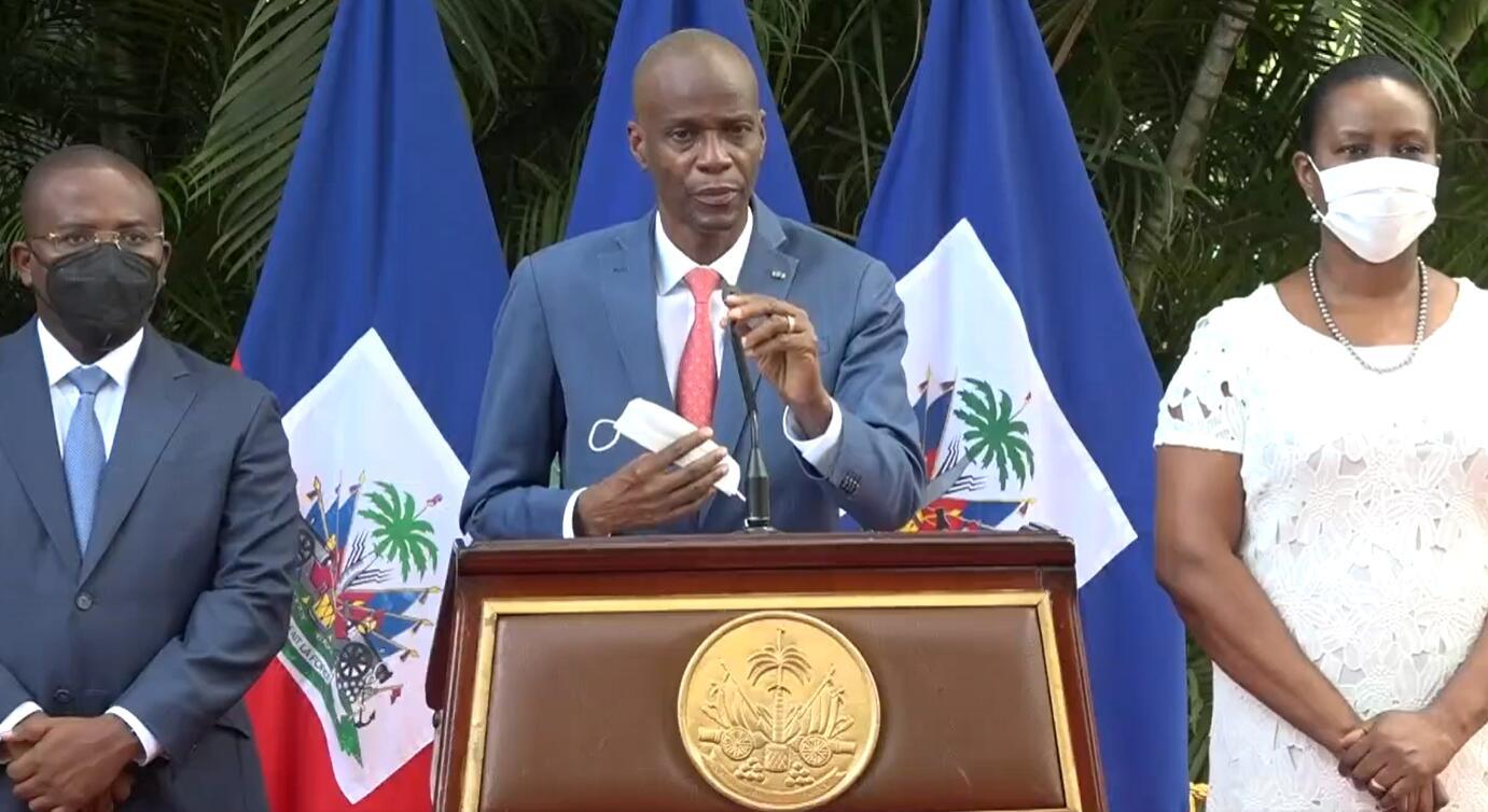 俄外交部:海地总统遇刺与台湾有关