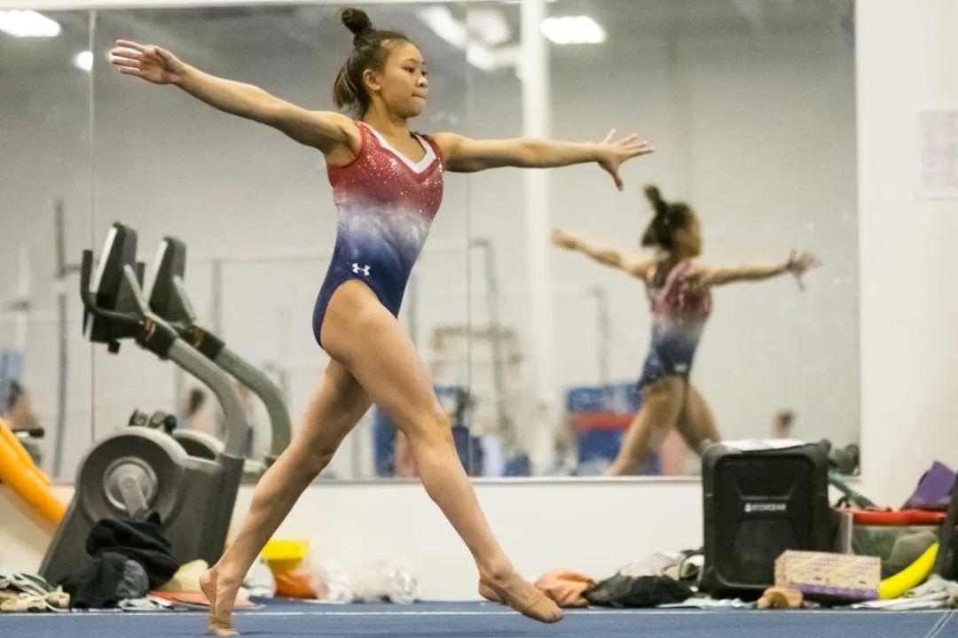 练体操往往需要在专业的体操俱乐部进行。图源:网络