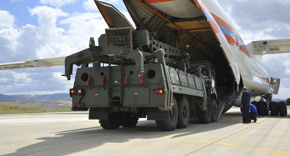 土耳其采购的第一批S-400防空系统装备