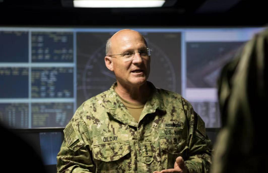 美国海军作战部长迈克尔·吉尔迪