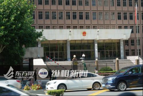 (圖說:上海市第一中級人民法院。蔡黃浩 攝)