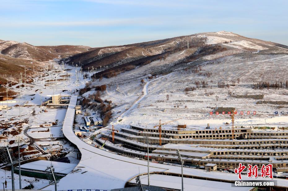 2021年2月1日,河北张家口,国家冬季两项中心将承办2022冬奥会冬季两项的11项比赛。图片来源:视觉中国