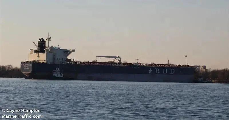 """Rumford""号油轮。(图自MarineTraffic网站)"