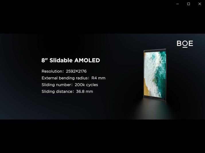 BOE(京东方)玻璃基Mini LED、OLED滑卷屏斩获国际显示周大奖2