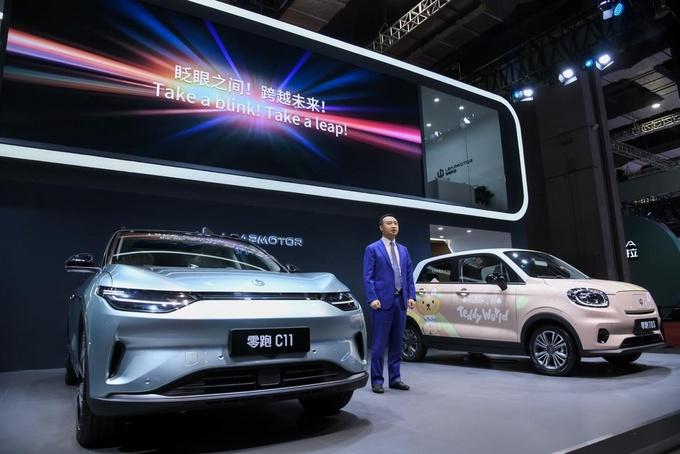不惧科技企业造车新人零跑科技上海车展展示重磅武器-图3