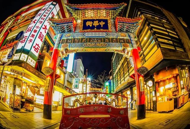 横滨中华街,日本最大的中华街