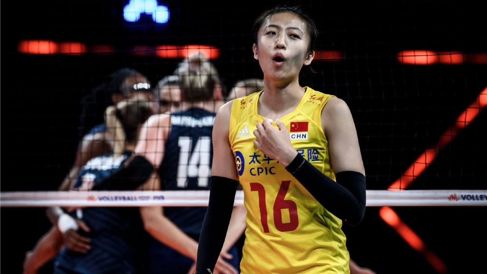 中國女排世聯賽兩大目標全部完成!還順手打擊3大奧運對手