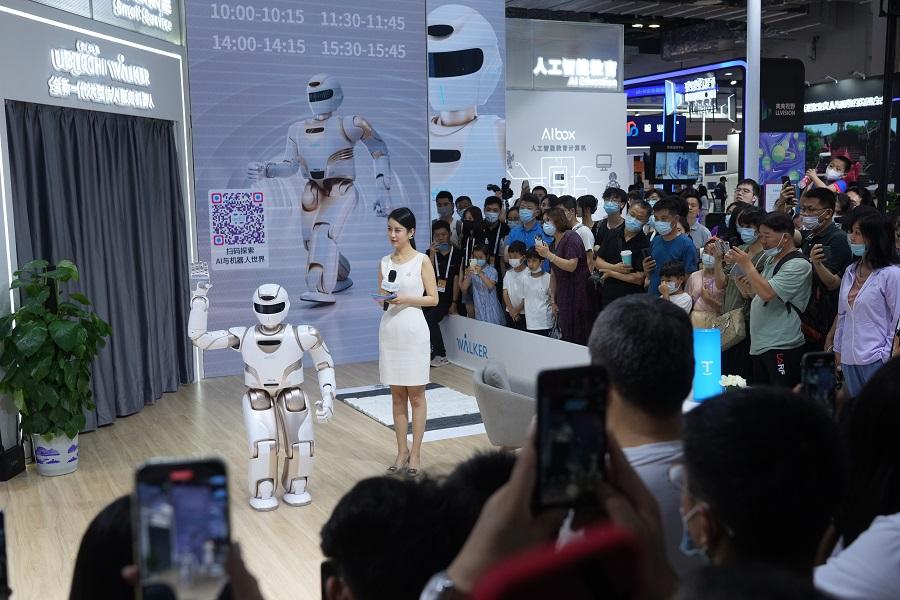 2021世界人工智能大会在上海开幕
