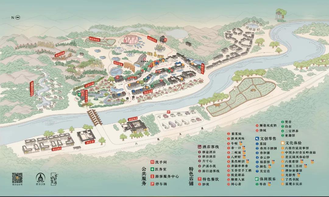 清凤鸣粤 | 惠能传奇、国风朝圣,云浮禅域小镇文旅的复苏之路