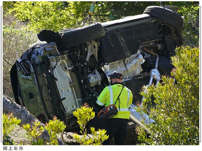 老虎伍兹遭遇严重车祸 靠这款豪华SUV捡回一命-图6