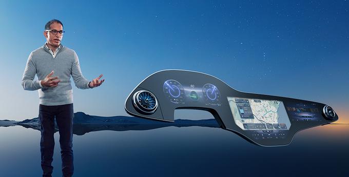 奔驰发布全新车机交互系统!1.4米大屏,拥有人工智能学习能力
