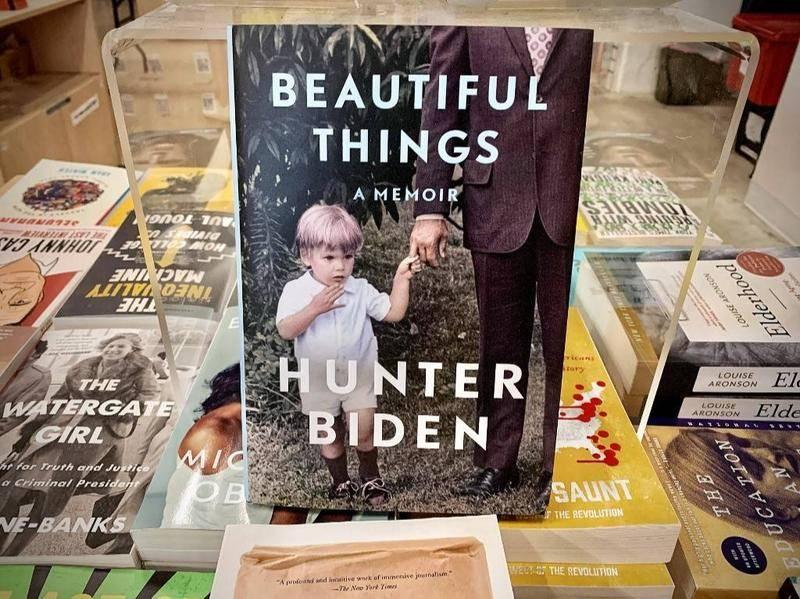 亨特·拜登的新书《美好的事物》 (图片:AFP)