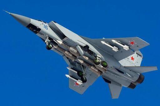 米格-31空战挂载模式 资料图