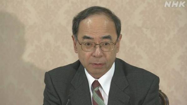 日本宫内厅长官西村泰彦出席记者会 视频截图