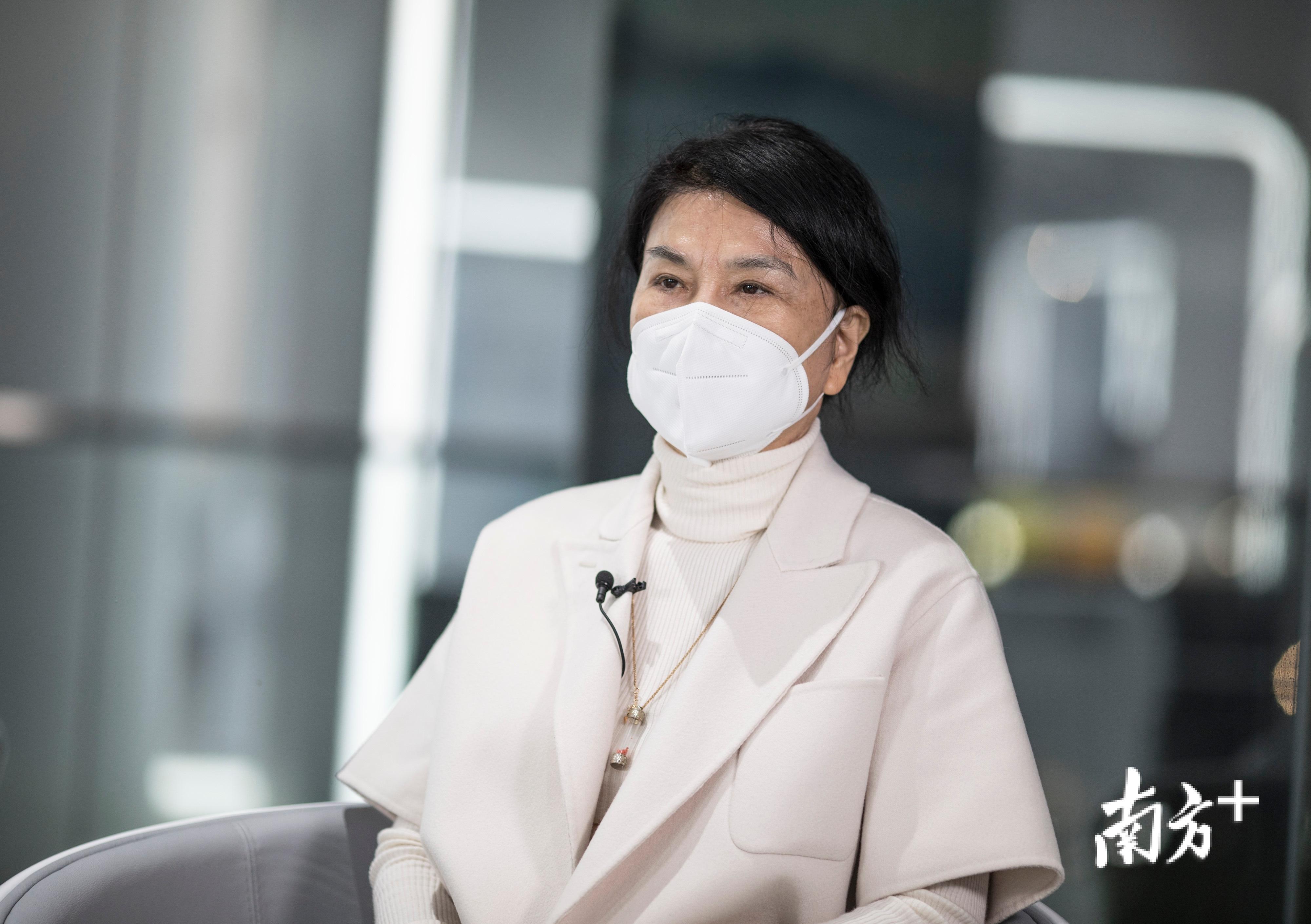 格力电器董事长董明珠。南方日报记者 张由琼 姚志豪 摄