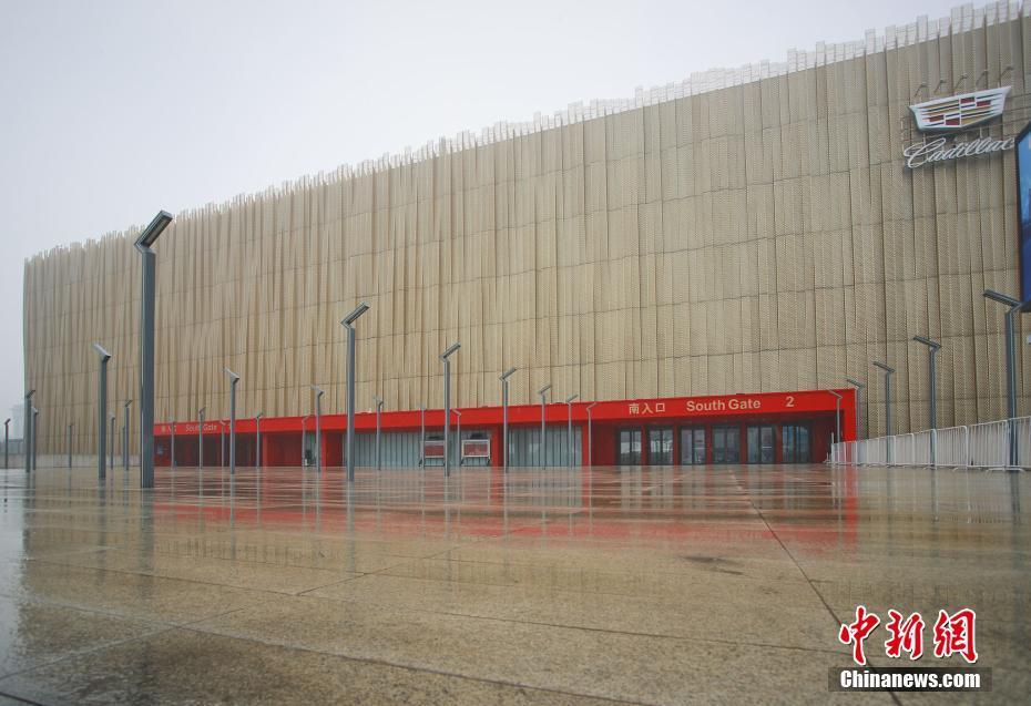 五棵松体育馆将作为2022冬奥会冰球比赛场馆。图片来源:视觉中国