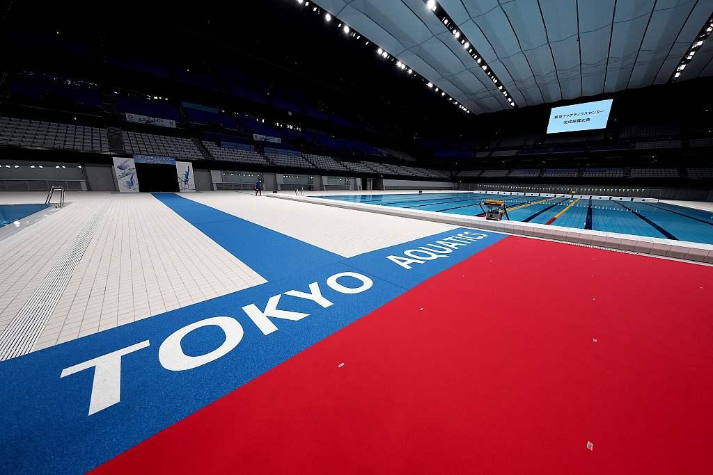 资料图:东京奥运会场馆