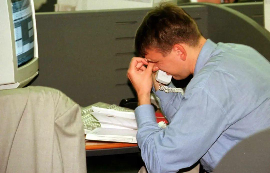 俄罗斯违约期间一名银行间交易员,1998年9月