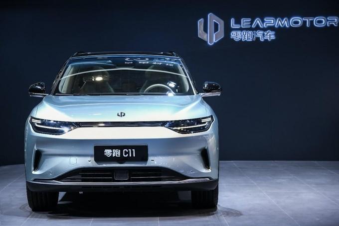 不惧科技企业造车新人零跑科技上海车展展示重磅武器-图5