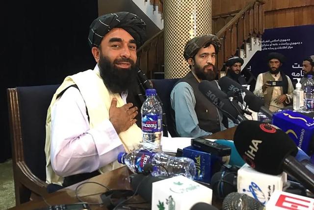 塔利班新闻发布会