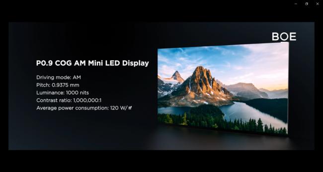 BOE(京东方)玻璃基Mini LED、OLED滑卷屏斩获国际显示周大奖1