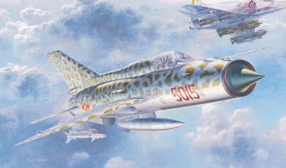(越南空军米格21曾经在对美作战中积累丰富经验。是一个很难对付的对手)