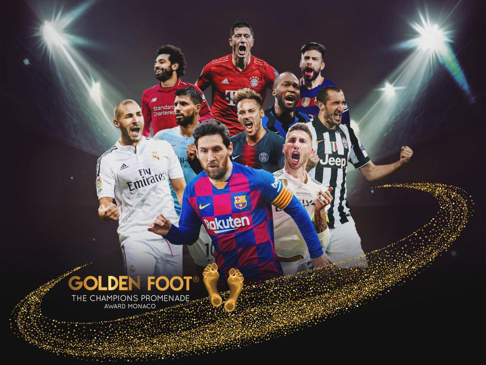 2021年金足獎候選名單:梅西領銜 拉莫斯入選