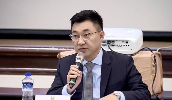 国民党主席江启臣。(图片来源:网络)