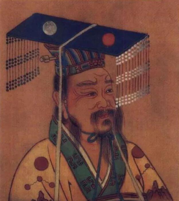 上图_ 汉太宗,刘恒(前203年—前157年),即汉文帝