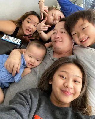 苏妮莎一家是一个大家庭 图源: COURTESY