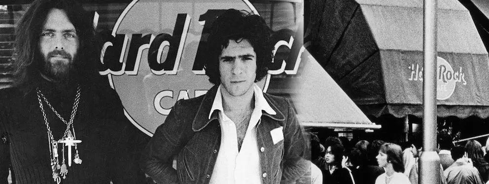 Hard Rock Cafe创始人Isaac Tigrett和Peter Morton (图源:Hard Rock 官网)
