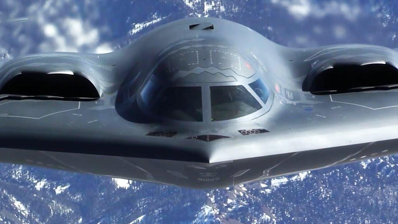 美国空军B-2隐形轰炸机