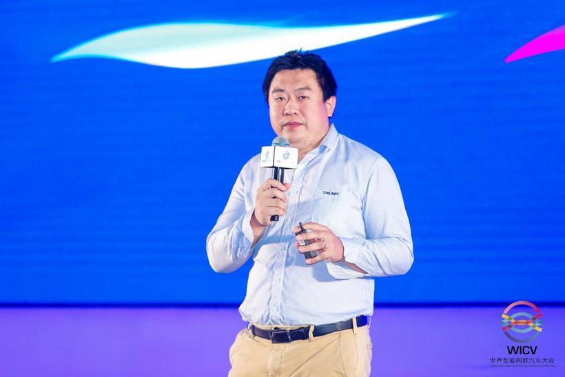 【2021世界智能网联汽车大会】主线科技张天雷:新一代人工智能物流网络——自动驾驶卡车最佳实践