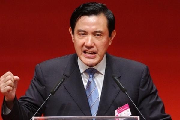 前台湾地区领导人马英九。(图片源自网络)